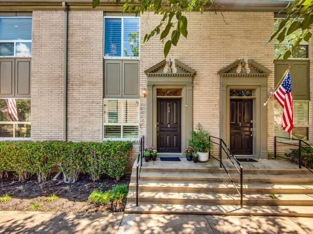 7526 W Northwest Highway #6, Dallas, TX 75225 (MLS #14669317) :: Real Estate By Design