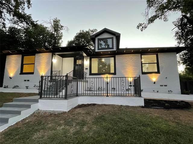 1231 S Marsalis Avenue, Dallas, TX 75216 (MLS #14669483) :: Real Estate By Design