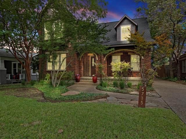 5715 Vanderbilt Avenue, Dallas, TX 75206 (MLS #14672945) :: All Cities USA Realty