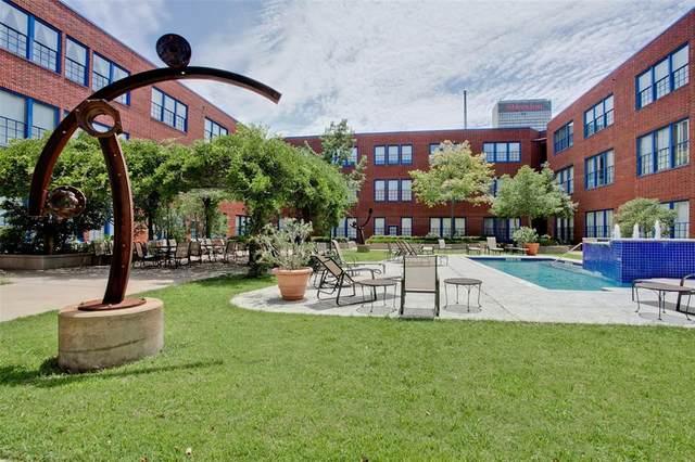 2502 Live Oak Street #233, Dallas, TX 75204 (MLS #14673335) :: Real Estate By Design