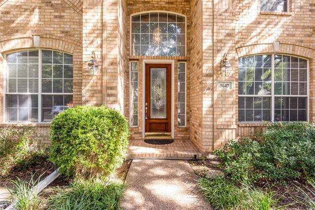 3647 Eden Drive, Dallas, TX 75287 (MLS #14673400) :: Real Estate By Design