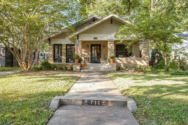 711 Skillman Street, Dallas, TX 75214 (MLS #14673779) :: Real Estate By Design