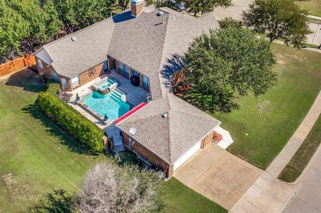 201 Stone Hollow, Prosper, TX 75078 (MLS #14675014) :: Russell Realty Group