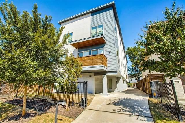 1824 Euclid Avenue D, Dallas, TX 75206 (MLS #14676804) :: All Cities USA Realty