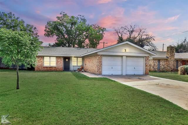 2601 Hollis Drive, Abilene, TX 79605 (MLS #14683860) :: Front Real Estate Co.