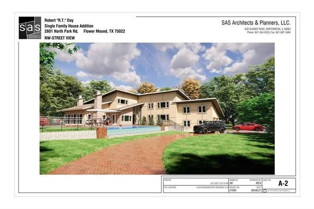 2801 N Park Drive, Flower Mound, TX 75022 (MLS #14686812) :: Real Estate By Design