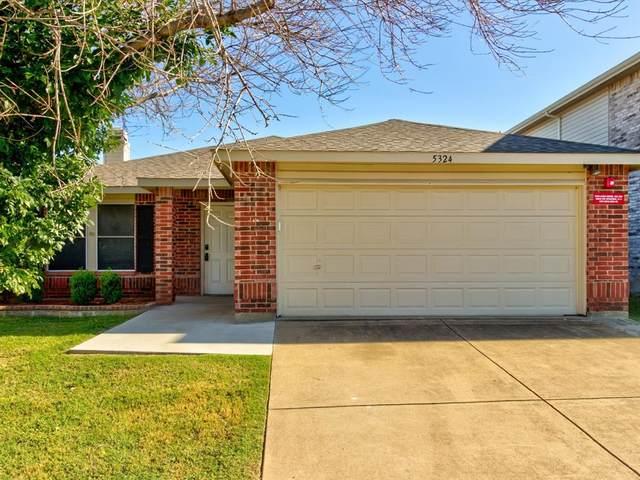 5324 Costa Mesa Drive, Fort Worth, TX 76244 (MLS #14691895) :: The Good Home Team