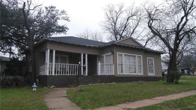 511 W 7th Street, Cisco, TX 76437 (MLS #13350535) :: The Heyl Group at Keller Williams