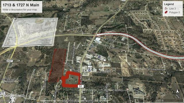 1713 N Main Street, Weatherford, TX 76085 (MLS #13637517) :: The Real Estate Station