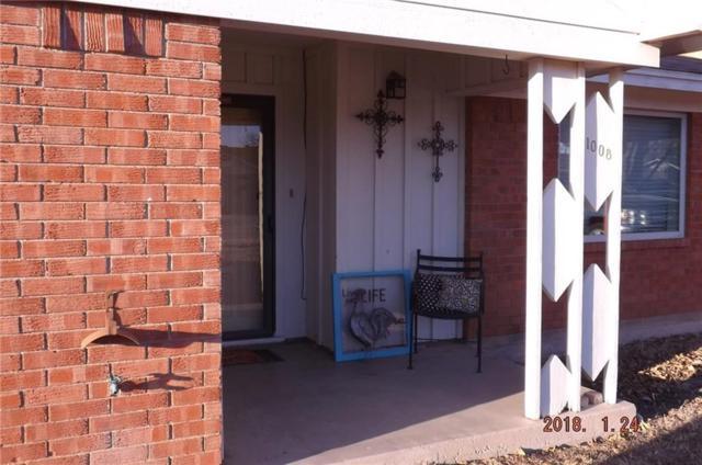 1008 3rd Street NW, Hamlin, TX 79520 (MLS #13705927) :: Team Hodnett