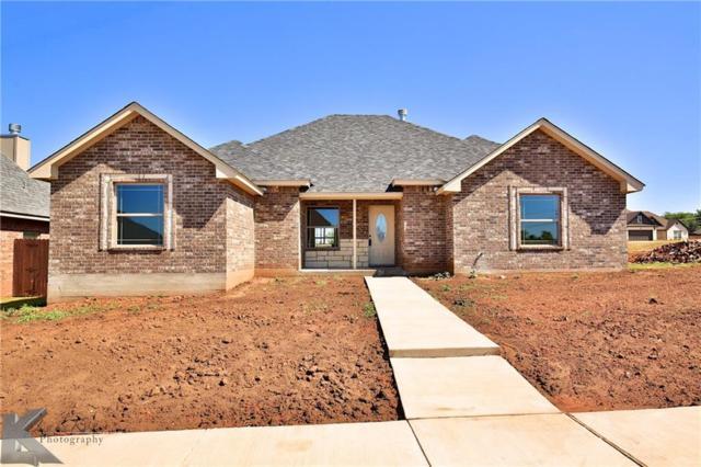 4110 Forrest Creek Court, Abilene, TX 79606 (MLS #13741231) :: The Real Estate Station