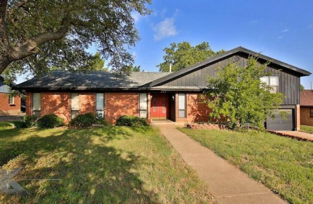 926 Harrison Avenue, Abilene, TX 79601 (MLS #13744290) :: Century 21 Judge Fite Company