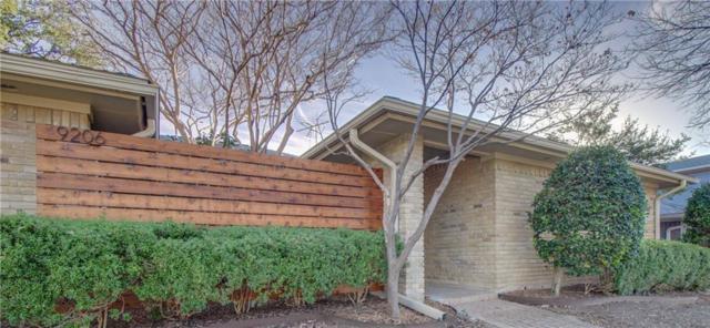 9206 Whitehurst Drive, Dallas, TX 75243 (MLS #13769292) :: Team Hodnett