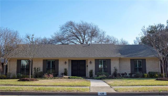 428 Ridge Crest Drive, Richardson, TX 75080 (MLS #13780971) :: Team Hodnett