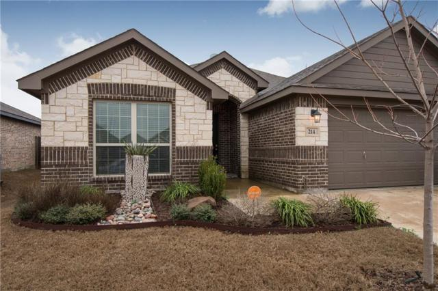 214 Old Spanish Trail, Waxahachie, TX 75167 (MLS #13785179) :: Team Hodnett
