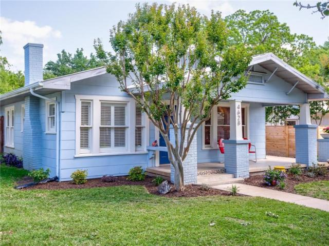 4628 Pershing Avenue, Fort Worth, TX 76107 (MLS #13846143) :: The Chad Smith Team