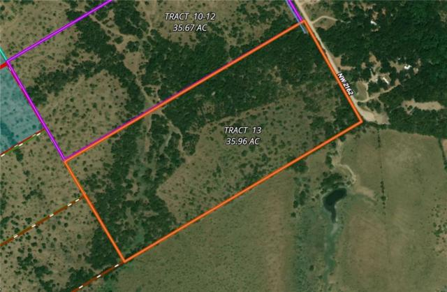 TR 13 NW County Road 2162 Road, Blooming Grove, TX 75102 (MLS #13857881) :: Robbins Real Estate Group