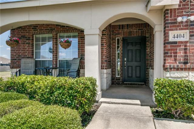 4404 Morning Song Drive, Fort Worth, TX 76244 (MLS #13858710) :: Team Hodnett