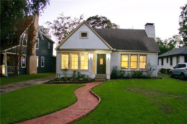 2631 Madera Street, Dallas, TX 75206 (MLS #13859431) :: Robbins Real Estate Group