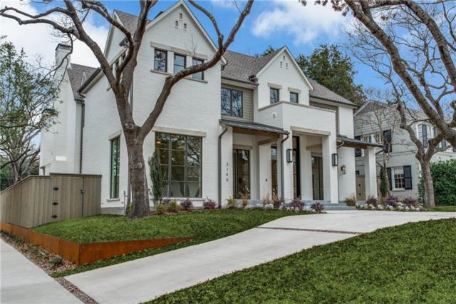 3140 Southwestern Boulevard, University Park, TX 75225 (MLS #13868760) :: The Heyl Group at Keller Williams