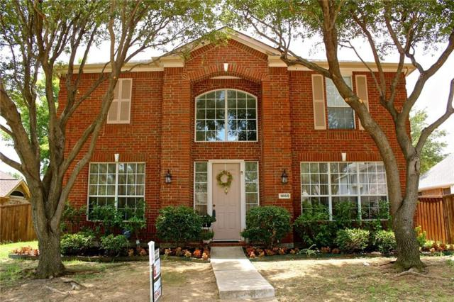 1668 Castle Rock Drive, Lewisville, TX 75077 (MLS #13875908) :: The Real Estate Station