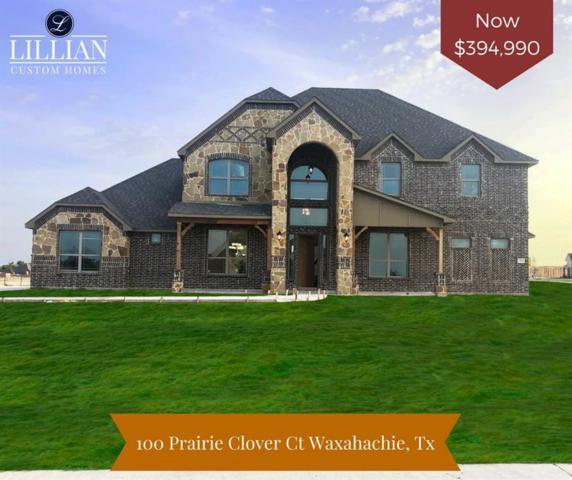 100 Prairie Clover Court, Waxahachie, TX 75165 (MLS #13879899) :: NewHomePrograms.com LLC