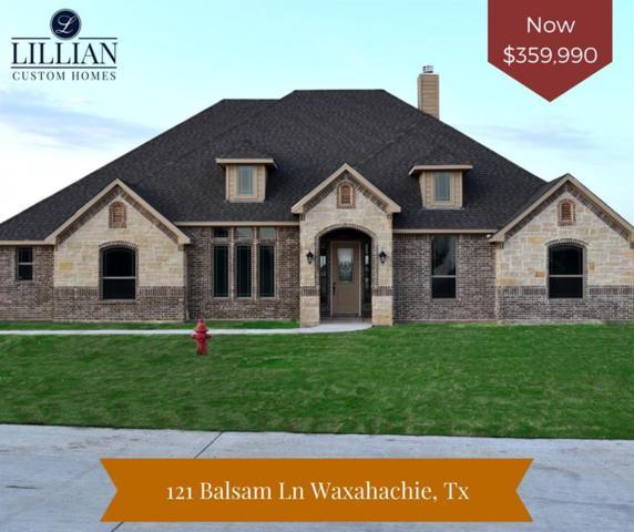 121 Balsam Lane, Waxahachie, TX 75165 (MLS #13880480) :: NewHomePrograms.com LLC
