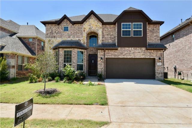 1209 Yarrow Street, Little Elm, TX 75068 (MLS #13880549) :: Baldree Home Team