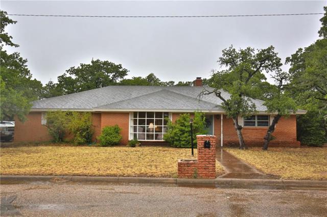 306 Shalimar Drive, Clyde, TX 79510 (MLS #13902576) :: Team Hodnett