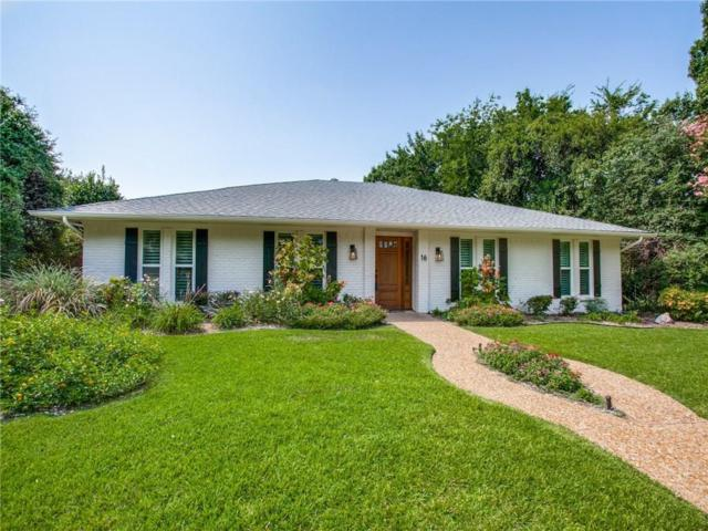 16 Gettysburg Lane, Richardson, TX 75080 (MLS #13913818) :: RE/MAX Town & Country