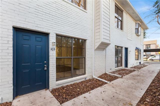 2806 Knight Street #103, Dallas, TX 75219 (MLS #13917700) :: The Heyl Group at Keller Williams