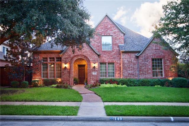 149 Dickens Drive, Coppell, TX 75019 (MLS #13928422) :: Kimberly Davis & Associates