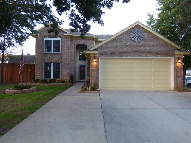 321 Georgian Oak Court, Lake Dallas, TX 75065 (MLS #13939759) :: RE/MAX Town & Country