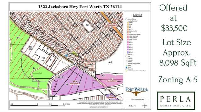 1322 Jacksboro Highway, Fort Worth, TX 76114 (MLS #13944563) :: The Real Estate Station