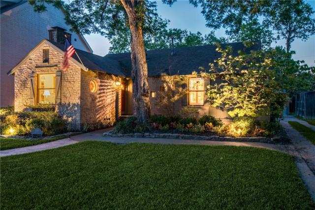 5517 W Hanover Avenue, Dallas, TX 75209 (MLS #13954782) :: RE/MAX Landmark
