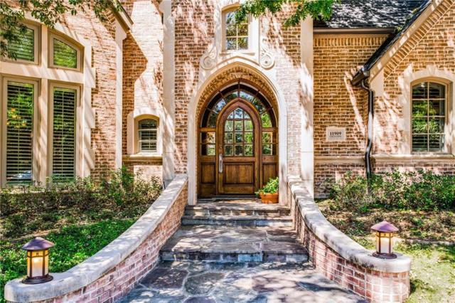 11909 Edgestone Road, Dallas, TX 75230 (MLS #13969154) :: Kimberly Davis & Associates
