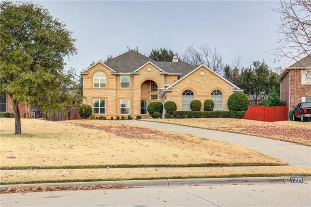 1309 Cadbury Lane, Keller, TX 76248 (MLS #13983201) :: The Hornburg Real Estate Group