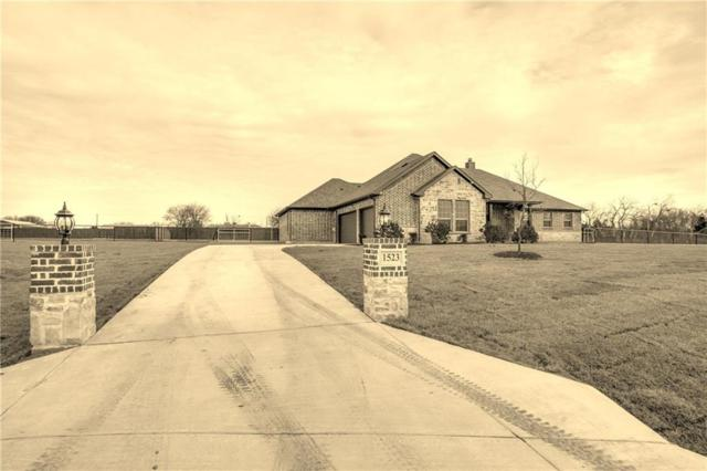 1523 Canales Trail, Farmersville, TX 75442 (MLS #13989127) :: RE/MAX Town & Country