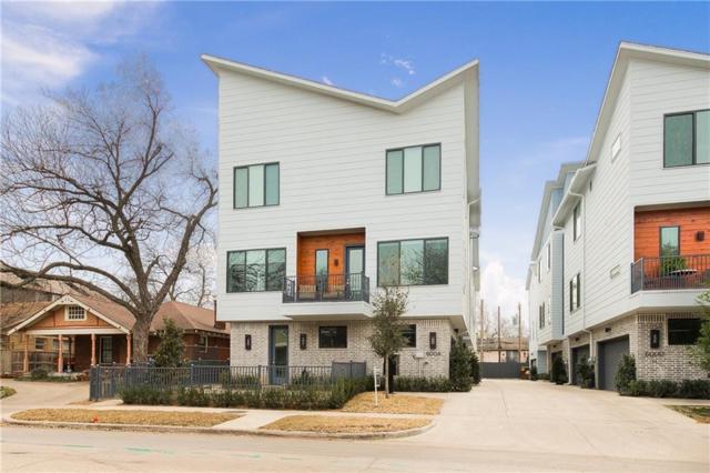 6004 Hudson Street #105, Dallas, TX 75206 (MLS #13989325) :: Century 21 Judge Fite Company