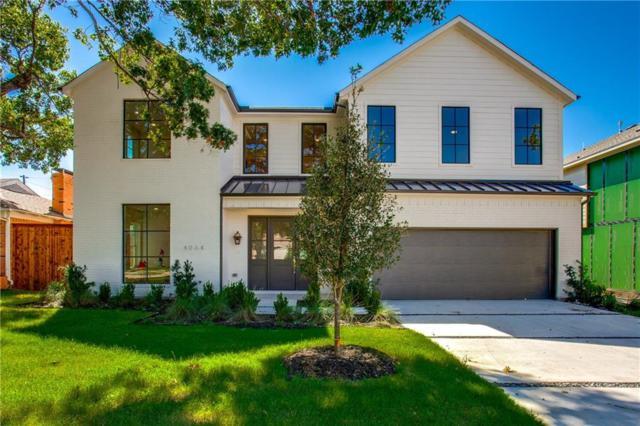 4064 Beechwood Lane, Dallas, TX 75220 (MLS #14002139) :: RE/MAX Landmark