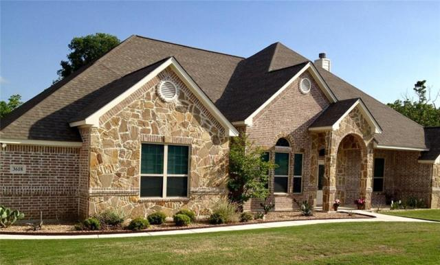 3618 Lakeway Drive, Weatherford, TX 76087 (MLS #14006718) :: The Tierny Jordan Network
