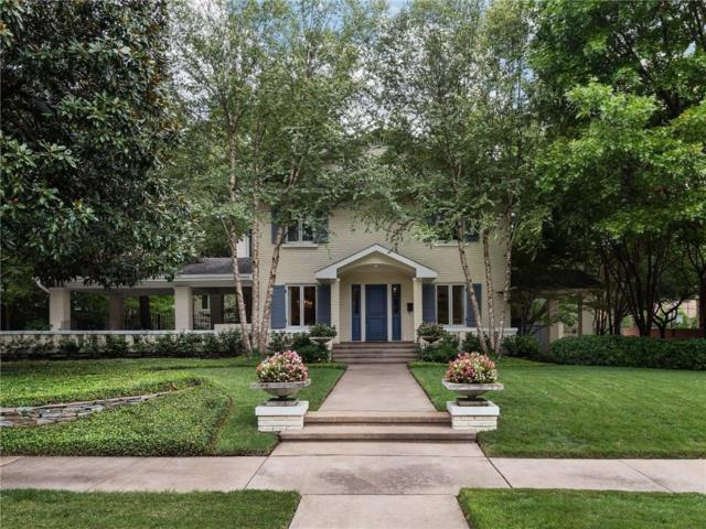 3517 Gillon Avenue, Highland Park, TX 75205 (MLS #14007017) :: Robbins Real Estate Group