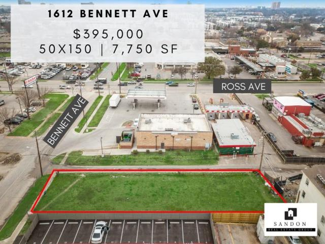 1612 Bennett Avenue, Dallas, TX 75206 (MLS #14009601) :: Team Hodnett
