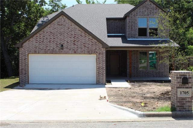 1705 Fairway Dr, Sherman, TX 75090 (MLS #14022534) :: Hargrove Realty Group