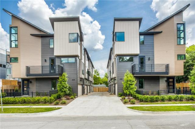 6016 Hudson Street #1, Dallas, TX 75206 (MLS #14023659) :: Robbins Real Estate Group