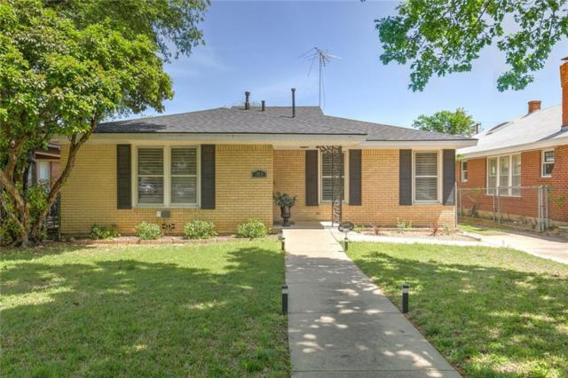 1815 Hillcrest Street, Fort Worth, TX 76107 (MLS #14031215) :: The Heyl Group at Keller Williams