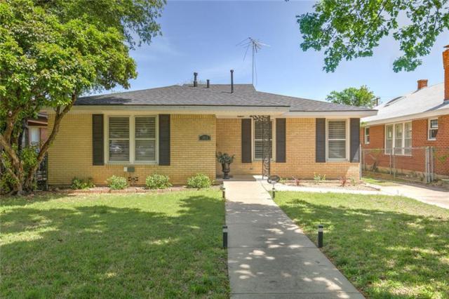 1815 Hillcrest Street, Fort Worth, TX 76107 (MLS #14031215) :: The Tierny Jordan Network