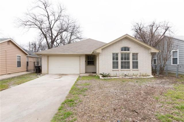3417 Stanley Avenue, Fort Worth, TX 76110 (MLS #14031442) :: Lynn Wilson with Keller Williams DFW/Southlake