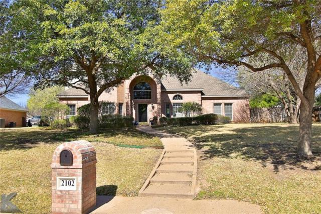 2102 Westminster Drive, Abilene, TX 79602 (MLS #14038351) :: RE/MAX Town & Country