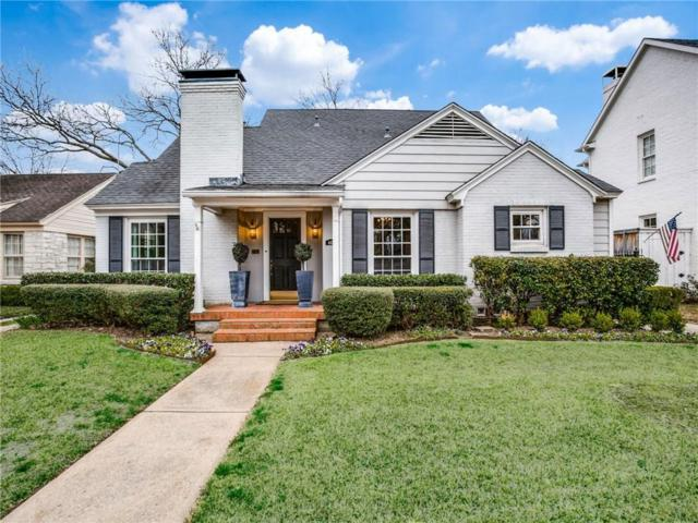 4429 Bryn Mawr Drive, University Park, TX 75225 (MLS #14043397) :: Robbins Real Estate Group